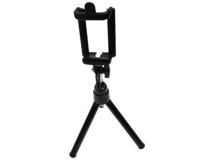 Βάση Stand Τρίποδο για Φωτογραφίες για Smartphone σε Μαύρο χρώμα