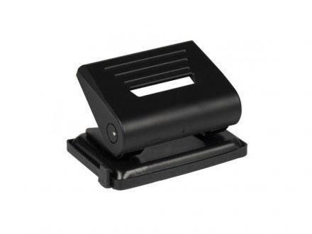 Topwrite Διακορευτής Περφορατέρ 12x8.5x8cm 2 Οπών 80mm με Οδηγό σε Μαύρο Χρώμα