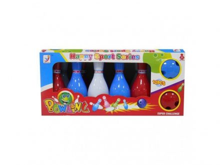 Σετ παιδικό Μπόουλινγκ Bowling με 10 κορίνες και 2 μπάλες - Toy Market