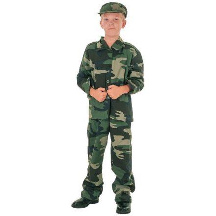 Αποκριάτικη Παιδική Στολή Στρατιώτης Σε 3 Μεγέθη - Cb