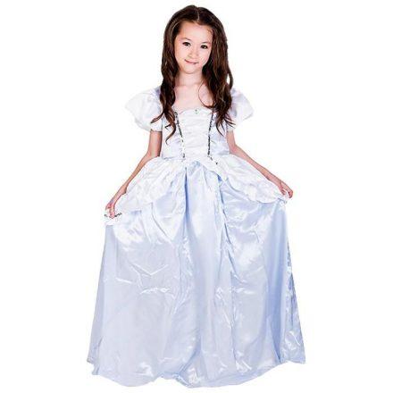 Αποκριάτικη Παιδική Στολή Σταχτοπούτα Με Λευκό Φόρεμα - Cb