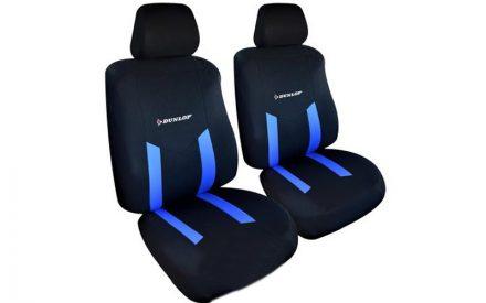 Dunlop Universal Καλύμματα Καθισμάτων Αυτοκινήτου σετ 6 τεμ σε Μπλε χρώμα
