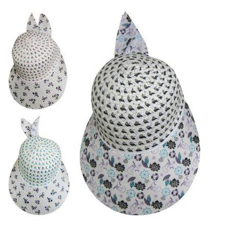 Καπέλο Γυναικείο Τζόκεϊ Jockey 30cm σε 3 σχέδια