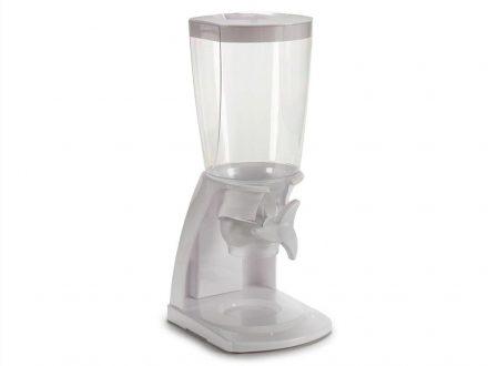 Διανεμητής δημητριακών και ξηρών καρπών χωρητικότητας 4.5L σε Λευκό χρώμα