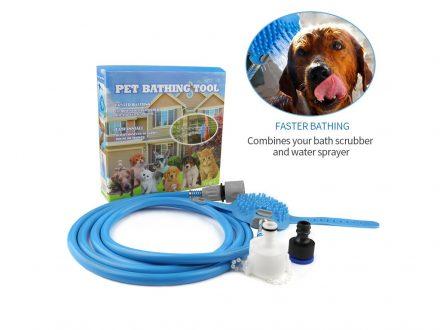 Λάστιχο Βούρτσα Καθαρισμού για Πλύσιμο Σκύλων AquaPaw - Pet Bathing Tool - Cb