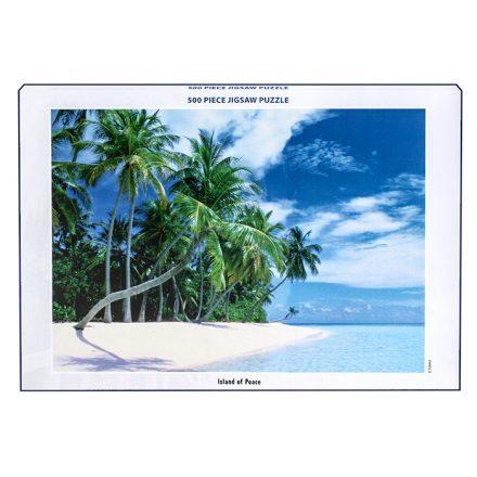 Παζλ 500 τεμαχίων με απεικόνιση το νησί ISLAND OF PEACH