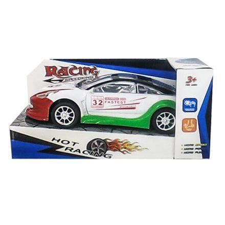 Σπορ αυτοκίνητο Hot Racing Αυτοκούρδιστο Τριβής Διαστάσεων 27x13x12cm - Cb