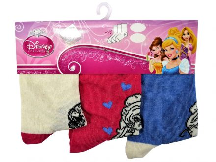 Σετ 3τεμ. Παιδικές Κάλτσες Princess