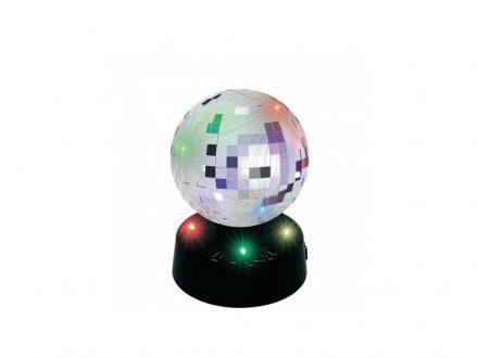 Party Fun Lights Mirror Disco Μπάλα 10cm με 4 LED