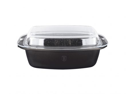 Berlinger Haus Παραλληλόγραμμο Μαγειρικό Σκεύος με Καπάκι κατάλληλο για φούρνο 40x22.5x10.9cm χωρητικότητας 5.2L από Χυτό Αλουμίνιο