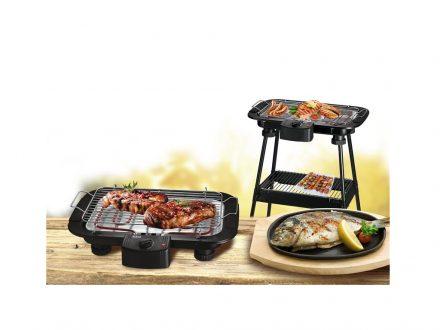 Sogo Ηλεκτρική ψησταριά Μπάρμπεκιου BBQ Ψησταριά Γκριλ-Grill 2000W με Αποσπώμενη Σχάρα και Πόδια Στήριξης