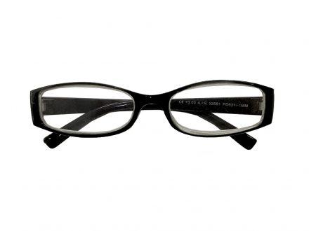 Lifetime Vision Unisex Γυαλιά Πρεσβυωπίας Διαβάσματος με Λεπτό Διάφανο Μαύρο σκελετό και βαθμό +2.50
