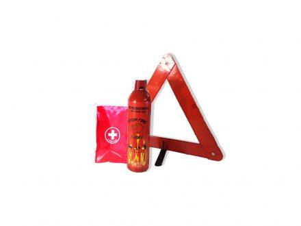 Σετ ΚΤΕΟ τρίγωνο πυροσβεστήρας θήκη φαρμακείο σετ πυρασφάλειας αυτοκινήτου - first aid