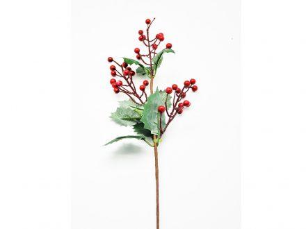 Χριστουγεννιάτικο κλαδί Γκι με διακοσμητικά φύλλα