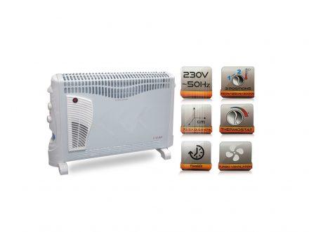Θερμοπομπός Kαλοριφέρ Θέρμανσης  2000W AC220-240V 50HZ