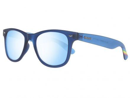 Polaroid Unisex Γυαλιά Ηλίου με Μπλε σκελετό
