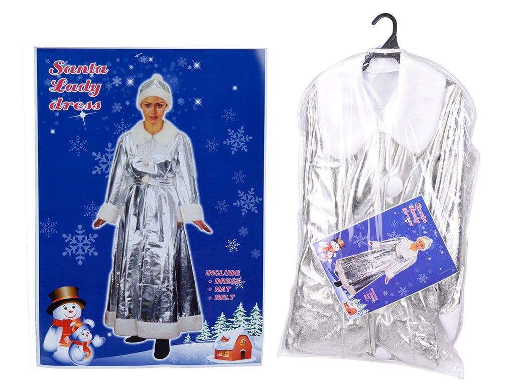 Χριστουγεννιάτικο Παλτό Χρώματος Ασημί