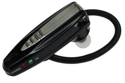 "Wellys Επαναφορτιζόμενο Ακουστικό Ενίσχυσης Ακοής σε σχήμα Bluetooth ακουστικού- Sound Zoomer ""Bluelook"""
