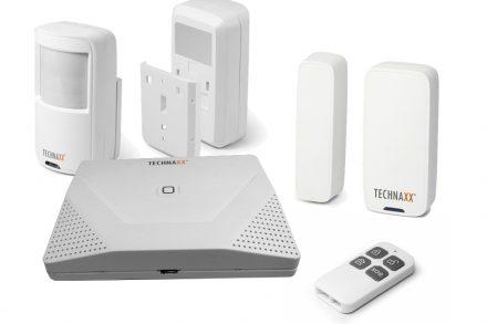 Technaxx Σύστημα Συναγερμού WiFi με Ανιχνευτή Κίνησης και Χειριστήριο για Εσωτερικούς χώρους