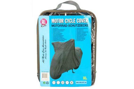All Ride Ανθεκτική Κουκούλα Κάλυμμα Μοτοσυκλέτας Μηχανής Γενικής Χρήσης XLarge 246x105x127cm για Προστασία απο Άνεμο Βροχή Σκόνη Κουτσουλιές Χιόνι Ηλιακό Φως κτλ