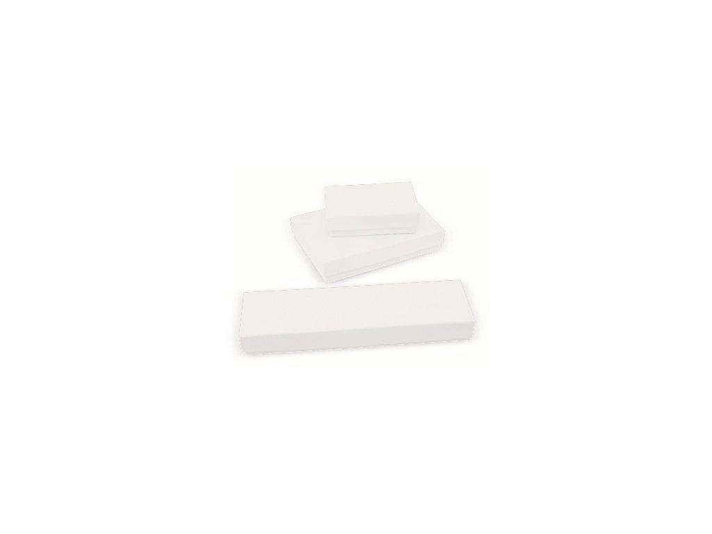 Topwrite Σετ 3 Κουτία Αποθήκευσης Δώρου από Δερματίνη σε Λευκό χρώμα
