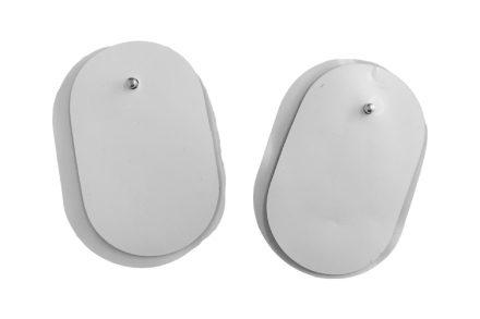 Wellys Ανταλλακτικά Επιθέματα της Ηλεκτρονικής Συσκευής Θεραπείας Μασάζ 2 σε 1 (052950) - Wellys