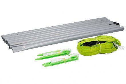 Dunlop Εξοπλισμός Γηπέδου Φιλέ για Τένις Βόλλεϊ Beach Volley που περιλαμβάνει Δίχτυ και Ορθοστάτες