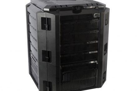 Κομποστοποιητής 380Lt για Οργανικό λίπασμα σε Μαύρο χρώμα