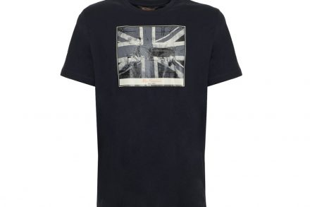 Ben Sherman Ανδρικό T-Shirt σε Μαύρο Χρώμα
