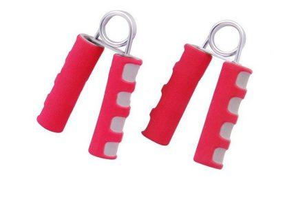 Kfit Ζευγάρι Ελατήριο Καρπού Χεριού σετ 2 τεμ σε χρώμα Κόκκινο