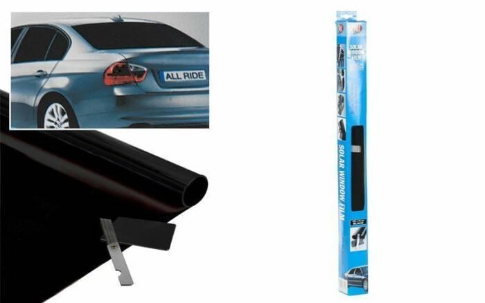 All Ride Solar Αντηλιακή Μεμβράνη Κτιρίων & Αυτοκινήτου Φιλμ Ρολό Ultra Dark 300x76cm – All ride