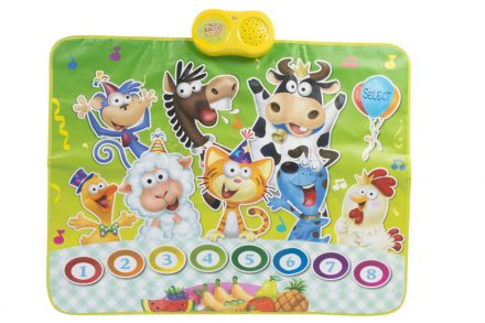 Παιδικό Χαλάκι Παιχνιδιού με 8 ήχους ζώων