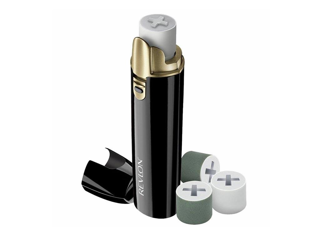 Συσκευή Μανικιούρ Buffer για Φυσικά και Λαμπερά Νύχια με 4 Αξεσουάρ σε Μαύρο χρώμα