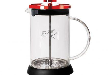Berlinger Haus Χειροκίνητη Καφετιέρα για Γαλλικό και Τσάι 600ml από Ανοξείδωτο ατσάλι