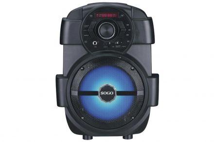 Sogo Φορητό Ασύρματο Bluetooth Ηχείο Καραόκε με σύστημα τρόλεϊ