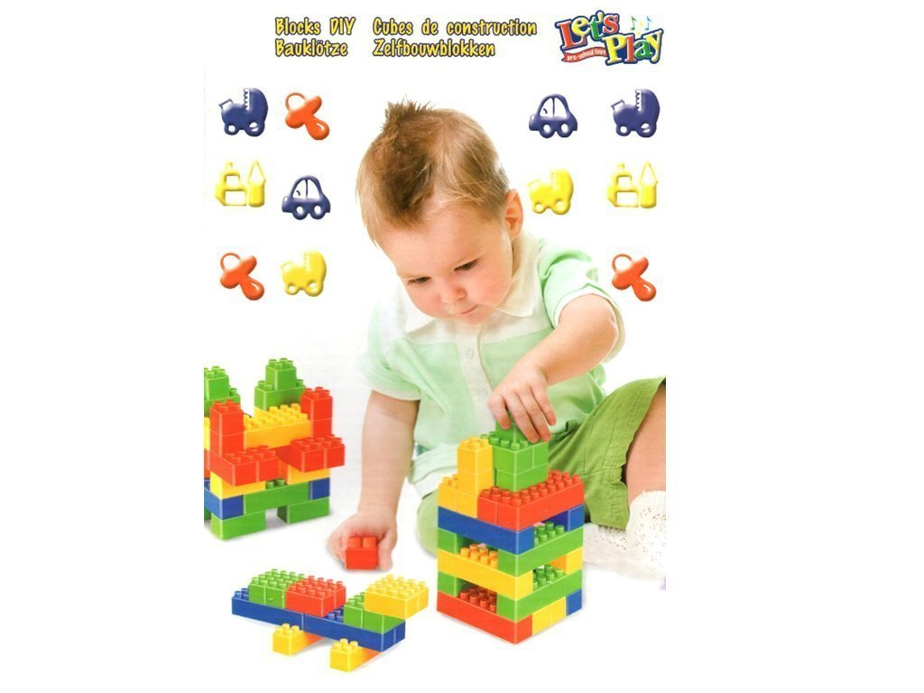 Σετ Πλαστικά Τουβλάκια 138 τεμαχίων για ατέλειωτες ώρες Παιχνιδιού και Δημιουργίας κατάλληλο για Παιδιά άνω των 3 ετών