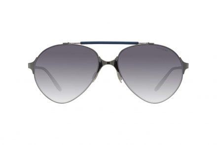 Carrera Ανδρικά Γυαλιά Ηλίου με Μεταλλικό Σκελετό σε Γκρι Χρώμα και Γκρι φακούς Τύπου Pilot