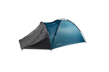 Dunlop Σκηνή 4 ατόμων για Εξοχή και Κάμπινγκ (Camping) 210x250x130cm σε Μπλε χρώμα - Dunlop