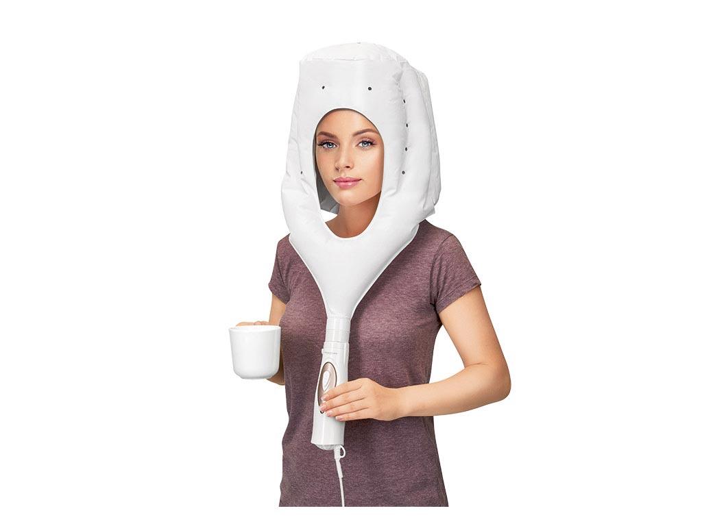 Ηλεκτρική κάσκα κουκούλα για στέγνωμα μαλλιών 400W με 2 ρυθμίσεις θερμοκρασίας