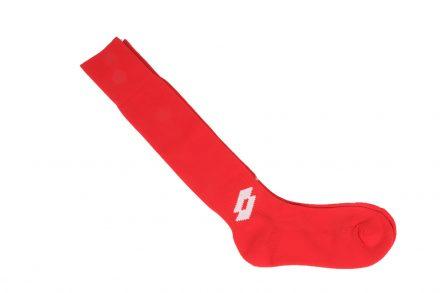 Lotto Αθλητικές Κάλτσες Ποδοσφαίρου Ελαστικές σε Κόκκινο Χρώμα