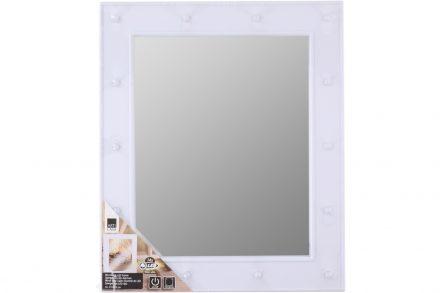 Καθρέφτης σε ορθογώνιο σχήμα με 14 LED και ζεστό λευκό φωτισμό