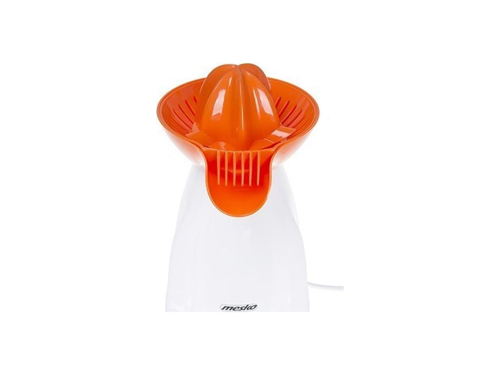 Mesko Ηλεκτρικός Λεμονοστίφτης Πορτοκαλοστίφτης 25W σε Λευκό Πορτοκαλί χρώμα - Mesko