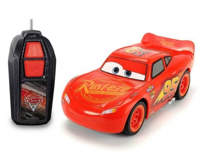 Disney Cars McQueen Παιδικό Τηλεκατευθυνόμενο Αυτοκινητάκι 1:32 με χειριστήριο κατάλληλο για παιδιά άνω των 3 ετών - Disney
