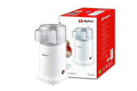 Alpina Switzerland Συσκευή Παρασκευής Ποπ Κορν 1100W Pop Corn Maker Χωρητικότητας 100γρ. σε Λευκό χρώμα