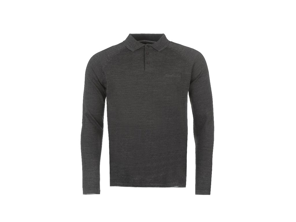 Pierre Cardin Ανδρική Πλεκτή Μπλούζα Polo με Μακρύ Μανίκι