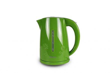 Ασύρματος Ηλεκτρικός Βραστήρας Νερού 1.7L 2200W σε Πράσινο Λευκό χρώμα