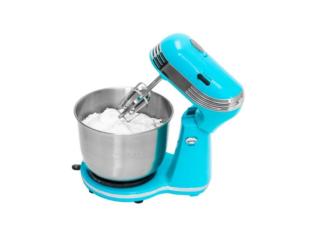 Cecotec Κουζινομηχανή Μίξερ Ζυμωτήριο Πλανητάριο 250W με Κάδο 3L και επιπλέον Αξεσουάρ σε Μπλε χρώμα