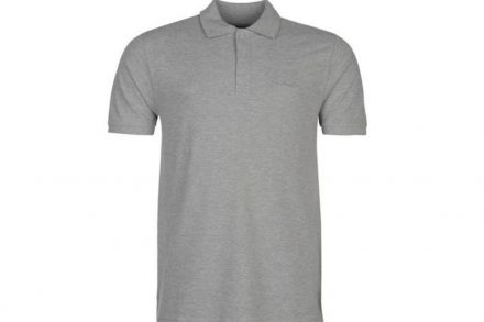 Pierre Cardin Ανδρικό μπλουζάκι polo T-Shirt με κοντό μανίκι και κουμπιά σε Γκρι Ανοιχτό χρώμα