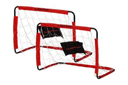 Dunlop Σετ Τέρμα Ποδοσφαίρου 2 τεμαχίων σε Μαύρο Κόκκινο χρώμα