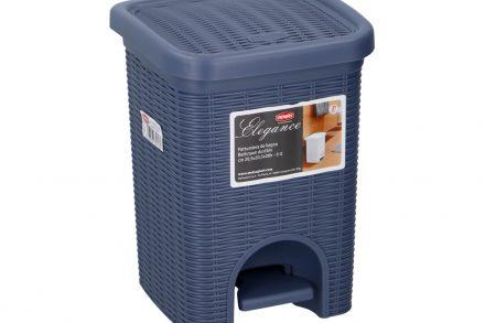 Κάδος Απορριμάτων 6 λίτρα με Πεντάλ Ιδανικός για Μπάνιο και Κουζίνα σε Σκούρο Μπλε χρώμα
